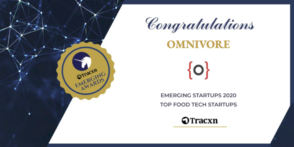 Tracxn names Omnivore as part of Emerging Startups 2020